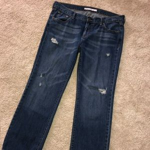 Old navy plus size 16 distressed jeans pants